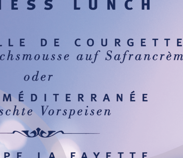 La Fayette. Restaurant.