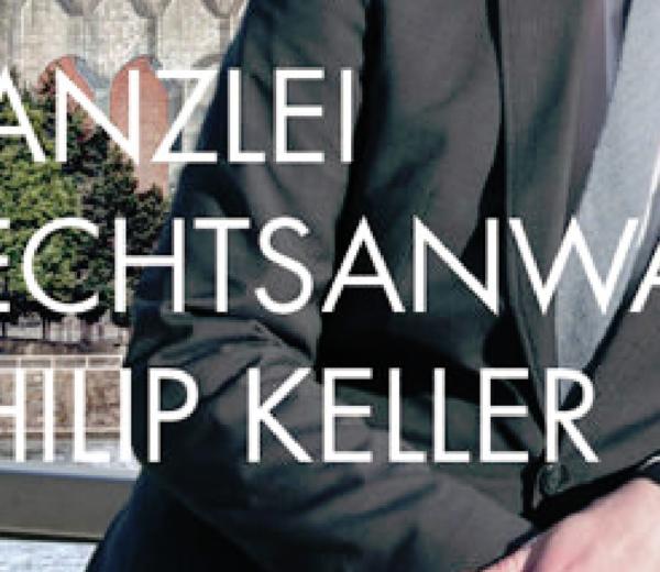 Philip Keller. Rechtsanwalt.